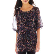 Lily Star 3/4-Sleeve Tunic