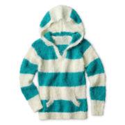 Arizona Soft Hooded Sweater - Girls 6-16 and Plus