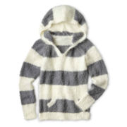 Arizona Soft Hooded Sweater - Girls 6-16 and Plus