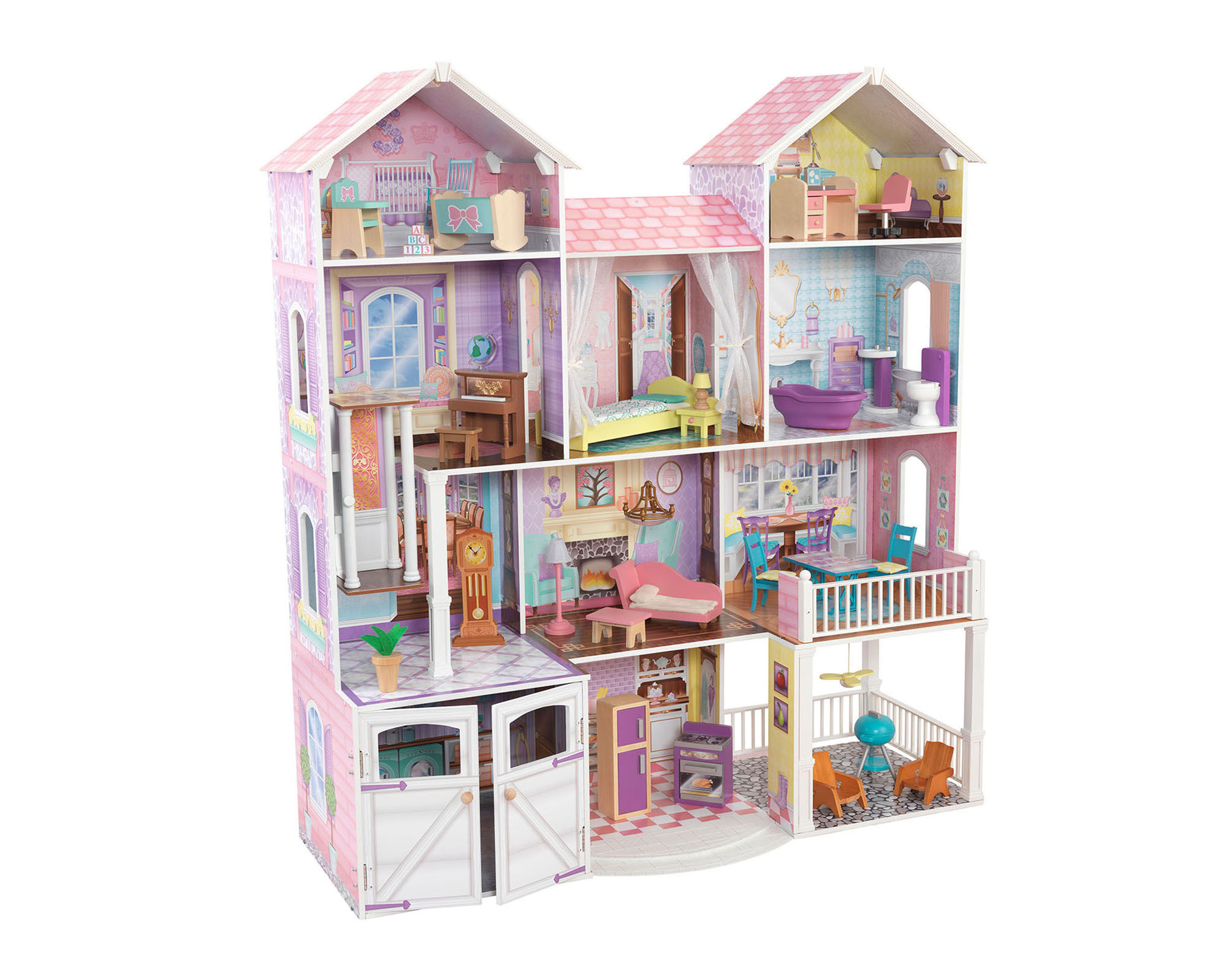 KidKraft Country Estate Dollhouse with Furniture