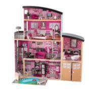 KidKraft® Sparkle Mansion Dollhouse with Furniture