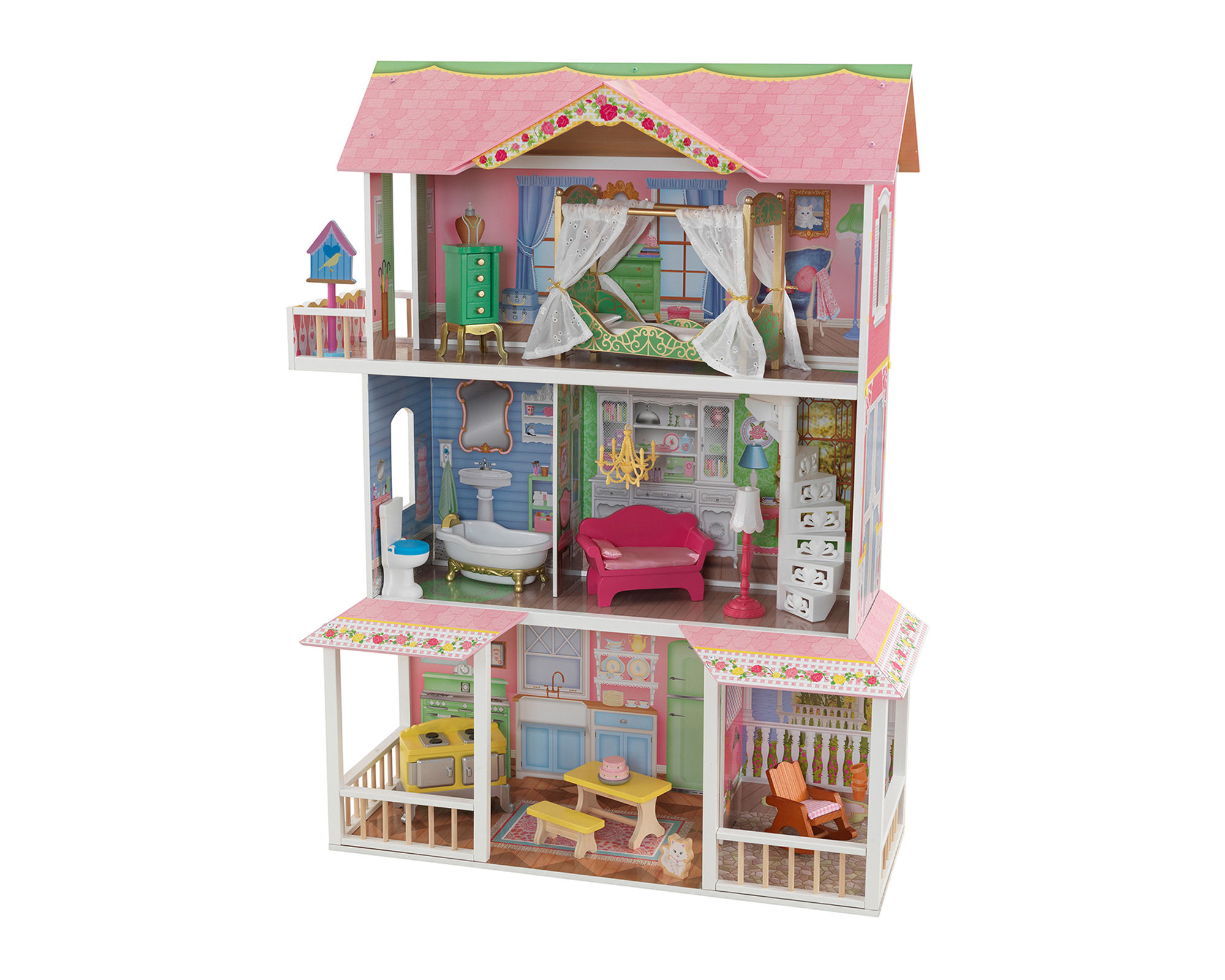 KidKraft Sweet Savannah Dollhouse with Furniture