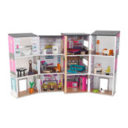 KidKraft® Contemporary Deluxe Dollhouse with Furniture