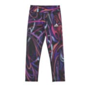 adidas® climalite® Printed Athletic Tights - Preschool Girls 4-6x