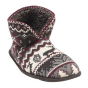 MUK LUKS® Mens Bootie Slippers