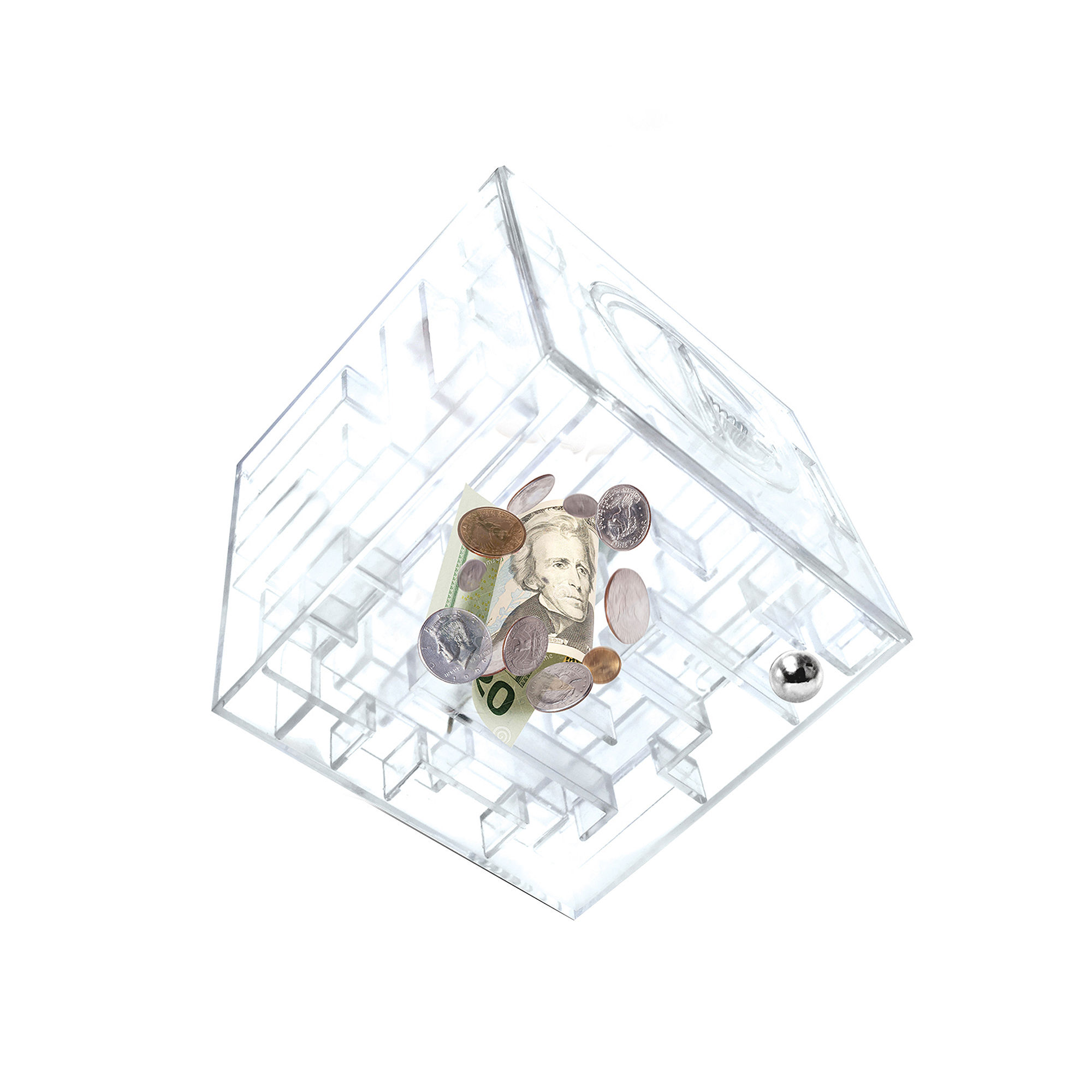 Money maze find it at shopwiki for Maze coin bank