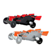 Protocol® Desk Racers 3D Wind-Up Puzzle