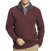 Arrow® Sueded Fleece Quarter-Zip Pullover