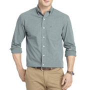 IZOD® Long-Sleeve End-On-End Woven Shirt