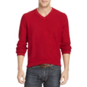 IZOD® Fine Gauge V-Neck Sweater