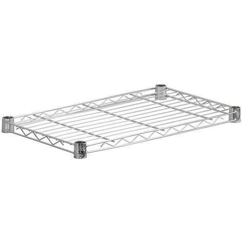 Honey-Can-Do® Steel Shelf - Chrome
