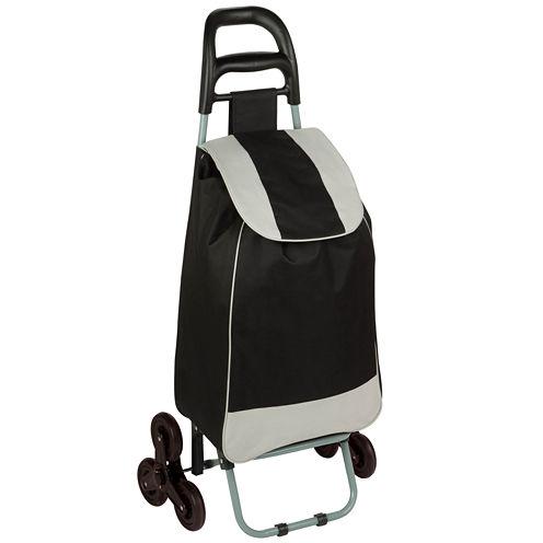 Honey-Can-Do® Tri-Wheel Bag Cart