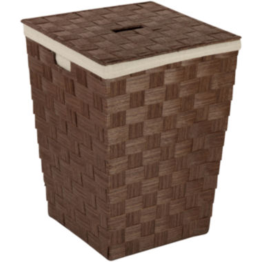 jcpenney.com | Honey-Can-Do® Woven Hamper with Liner