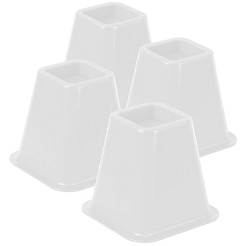 Honey-Can-Do® Set of 4 Plastic Bed Lifts