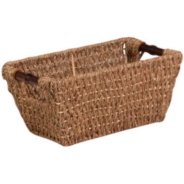 jcpenney.com | Honey-Can-Do® Small Seagrass Basket with Handles