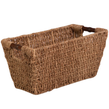 jcpenney.com | Honey-Can-Do® Medium Seagrass Basket with Handles