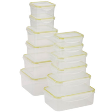 jcpenney.com | Honey-Can-Do® Snap-Tab 12-pc. Food Storage Set