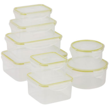 jcpenney.com | Honey-Can-Do® Snap-Tab 8-pc. Food Storage Set