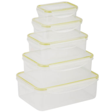 jcpenney.com | Honey-Can-Do® Snap-Tab 5-pc. Food Storage Set