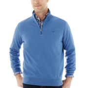 Dockers® Quarter-Zip Fleece Pullover