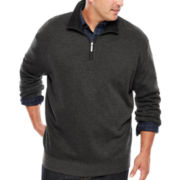 Van Heusen® Modern Quarter-Zip Knit Sweater - Big & Tall