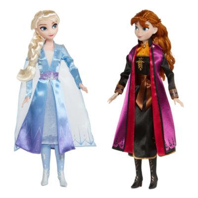Disney Collection Frozen Elsa Amp Anna Doll Set Jcpenney