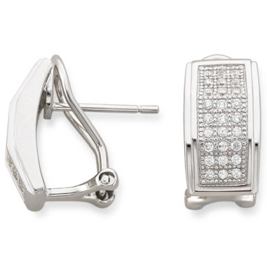 jcpenney.com | 1/3 CT. T.W. Diamond Pavé-Set Earrings