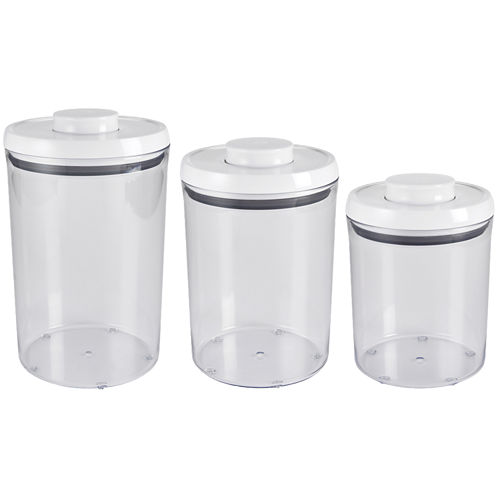 OXO Good Grips® 3-pc. Round Canister Set