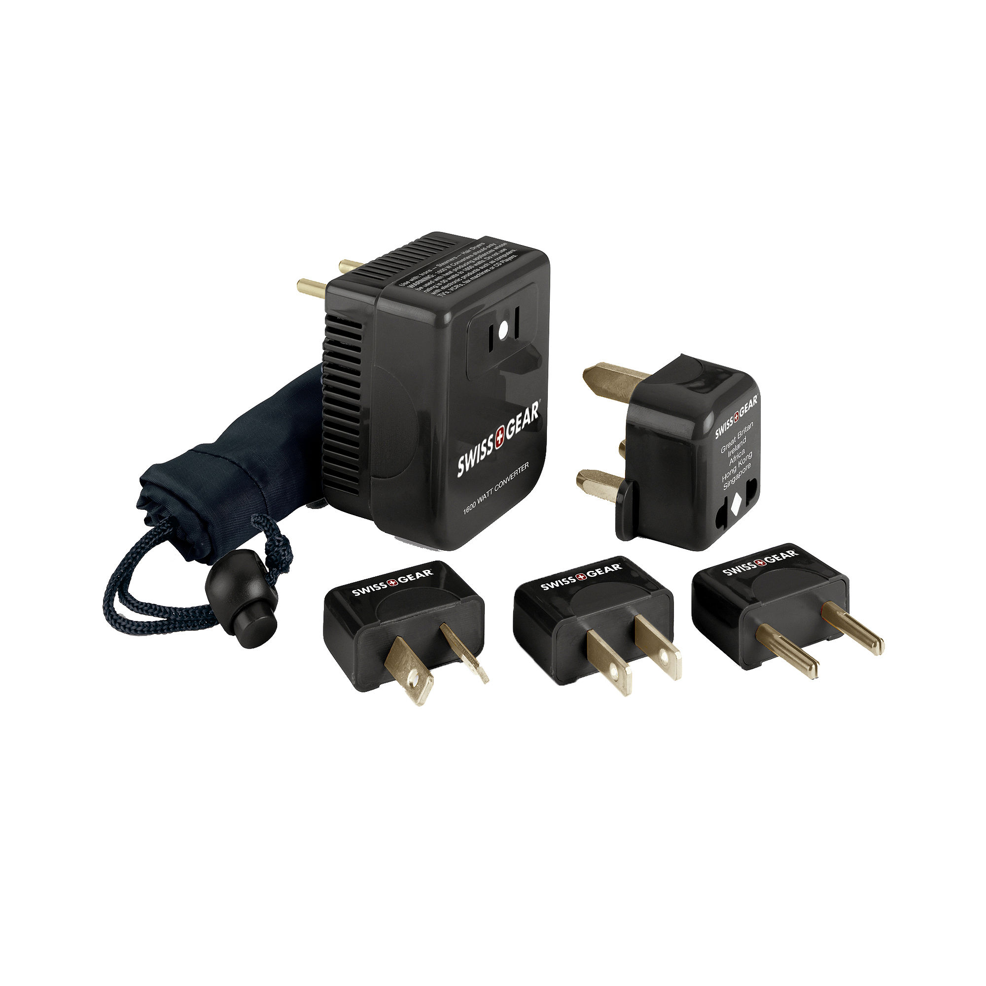 SwissGear Converter Adaptor Plug Kit
