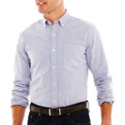 St. John's Bay® Button-Front Oxford Shirt