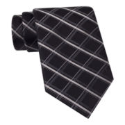 Stafford® Oceanside Grid Silk Tie