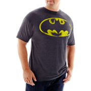 Batman Vintage Logo Tee-Big & Tall