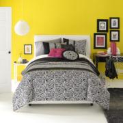 Seventeen® Ciera Zebra Comforter Set & Accessories