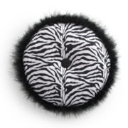 Seventeen® Ciera Zebra Round Decorative Pillow