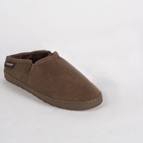 MUK LUKS® Matt Printed Berber Suede Slippers