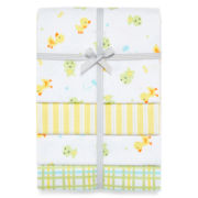 Carter's® Frog 4-pk. Receiving Blankets