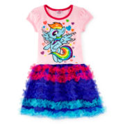 My Little Pony Short-Sleeve Tutu Dress - Girls 2t-6