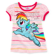 My Little Pony Puffy-Sleeve Top - Girls 2t-4t