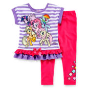My Little Pony Dolman Tunic and Leggings Set - Girls 2t-4t