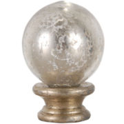 JCPenney Home™ Round Glass Lamp Finial