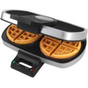TRU 2-Slice Belgian Waffle Maker