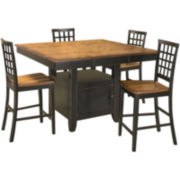 Callan Lattice 5-pc. Dining Set