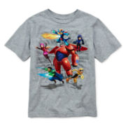 Disney Collection Big Hero 6 Short-Sleeve Graphic Tee – Boys 2-10