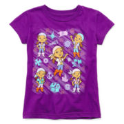 Disney Collection Izzy Short-Sleeve Graphic Tee – Girls 2-10