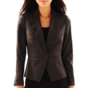 Worthington® 1-Button Sateen Jacket - Tall