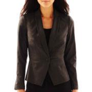 Worthington® 1-Button Sateen Jacket - Tall