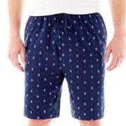 Stafford® Knit Pajama Shorts–Big & Tall
