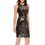 Bisou Bisou® Sleeveless Sequin Dress