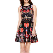 nicole by Nicole Miller® Sleeveless Fit-and-Flare Dress