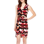 nicole by Nicole Miller® Sleeveless Side-Ruched Dress